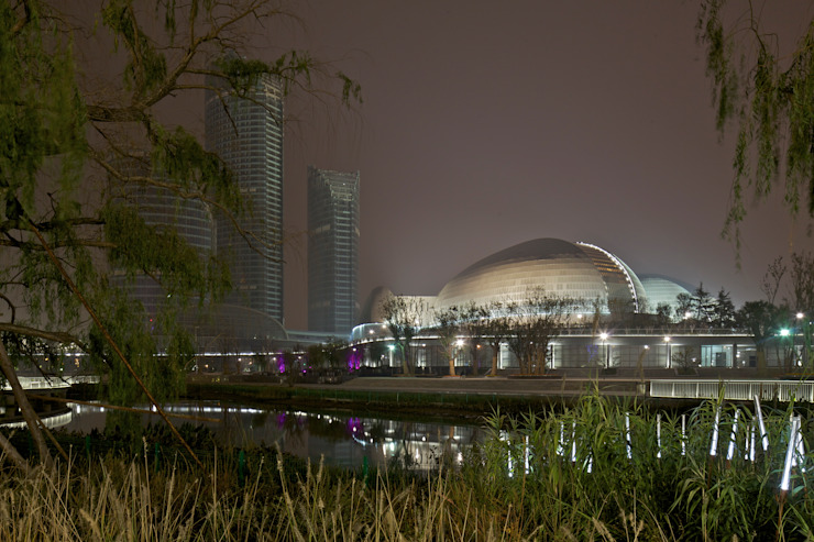 l'opéra de Jinan par Paul Andreu architecte
