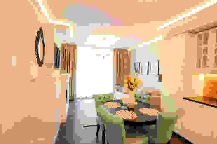 Apartament na Kazimierzu: styl , w kategorii Jadalnia zaprojektowany przez AgiDesign