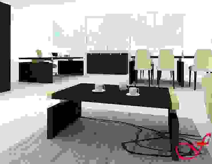 coffee table - classic style Complesso d'uffici in stile classico di Fenice Interiors Classico