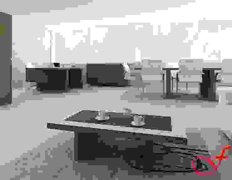 coffee table - italian style Complesso d'uffici moderni di Fenice Interiors Moderno