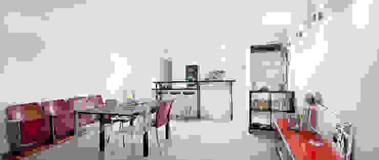 Столовая комната в стиле минимализм от Padeker Минимализм