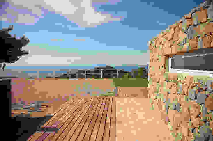 seaside single house di Modostudio | cibinel laurenti martocchia architetti associati Mediterraneo