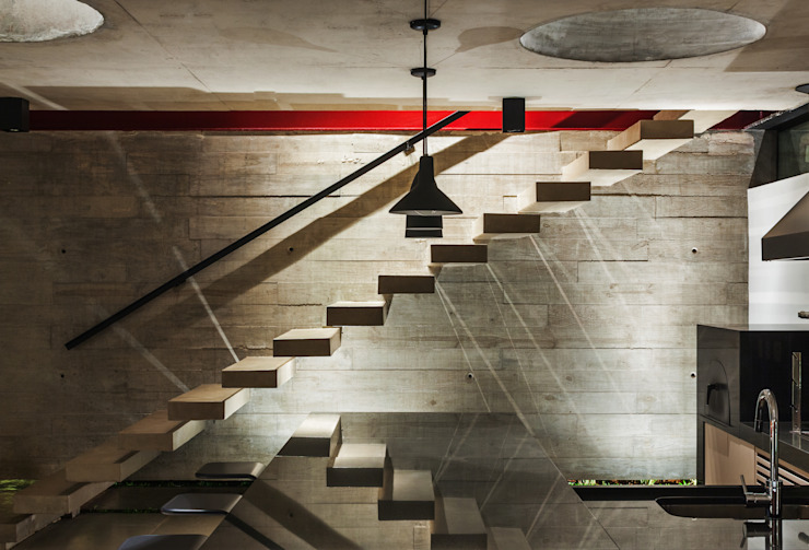 Moderne gangen, hallen & trappenhuizen van FCstudio Modern