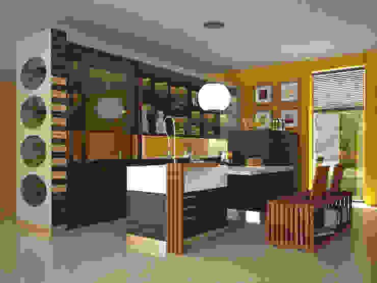 Concept cucina di Architetto ANTONIO ZARDONI Moderno