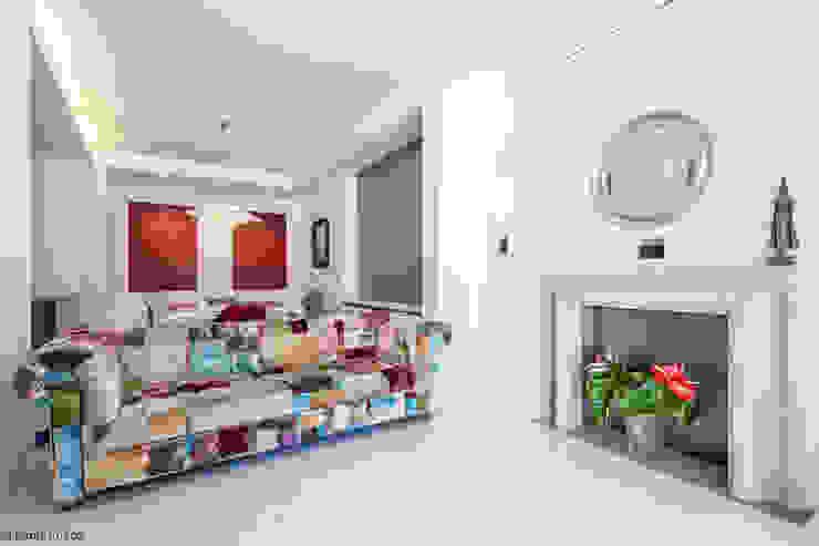 Appartamento a Monteverde Soggiorno minimalista di zero6studio - Studio Associato di Architettura Minimalista