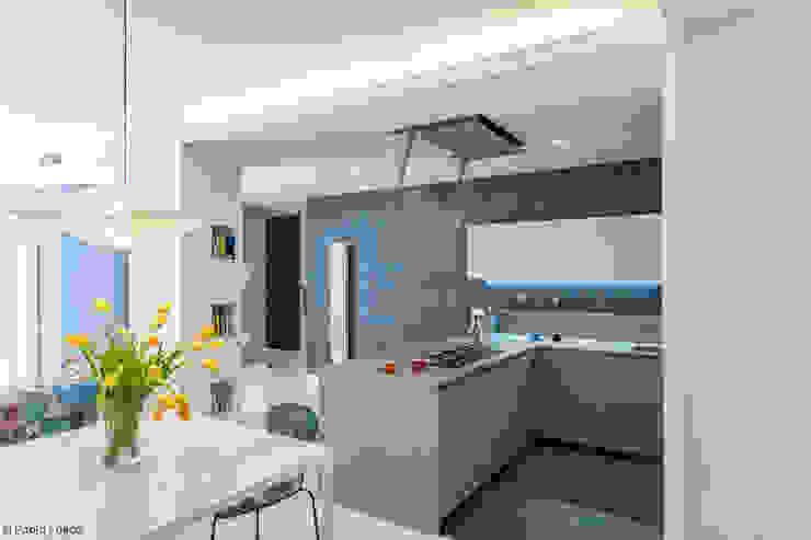 zero6studio - Studio Associato di Architettura Modern Kitchen