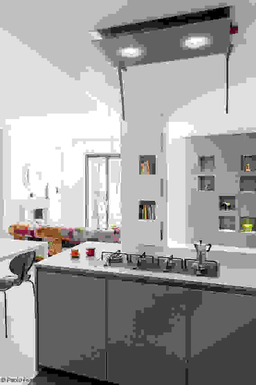 Appartamento a Monteverde Cucina moderna di zero6studio - Studio Associato di Architettura Moderno
