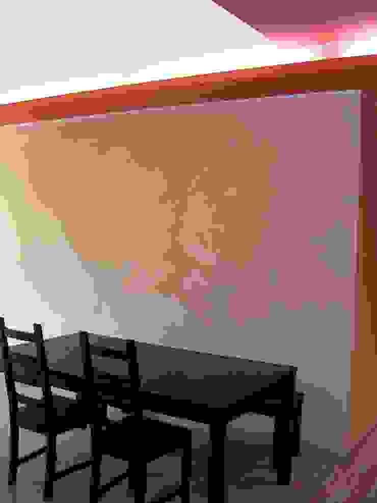 Ristrutturazione interna appartamento Sala da pranzo eclettica di Arch. Dario Nespoli Eclettico