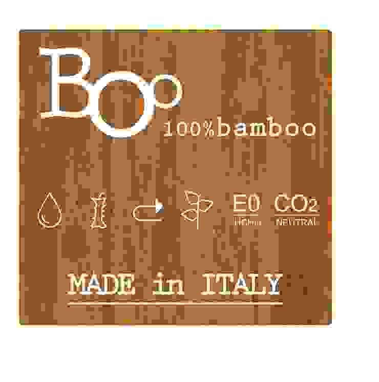 100% BamBoo Allestimenti fieristici moderni di Architetto ANTONIO ZARDONI Moderno