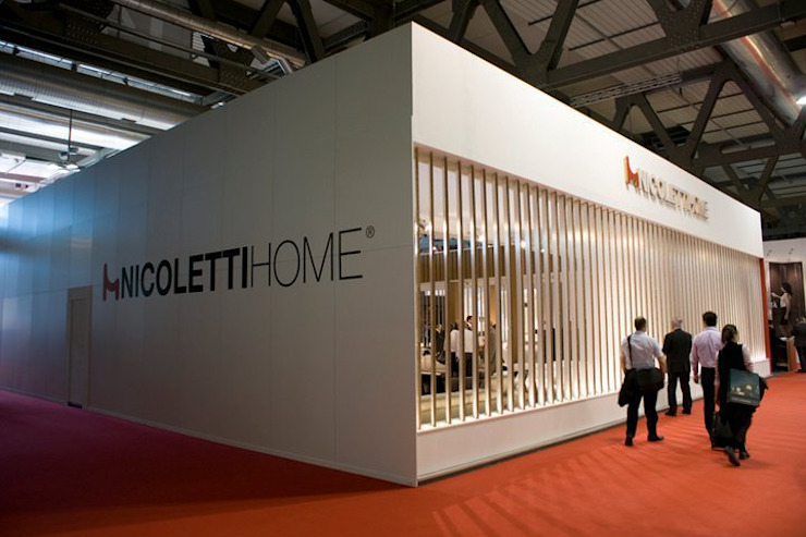 NICOLETTI HOME Allestimenti fieristici moderni di Architetto ANTONIO ZARDONI Moderno