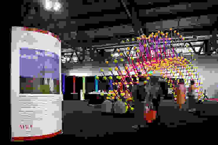 Sea Urchin Allestimenti fieristici in stile eclettico di Giancarlo Zema Design Group Eclettico