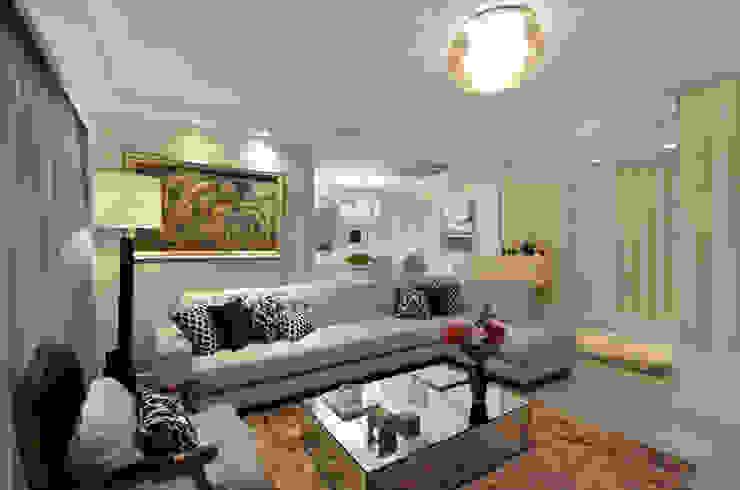 Moderne woonkamers van Tamara Rodriguez Aquitetura Modern