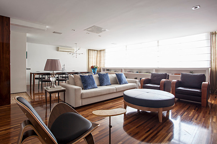 BJG Decorações de Interiores Ltda Classic style living room