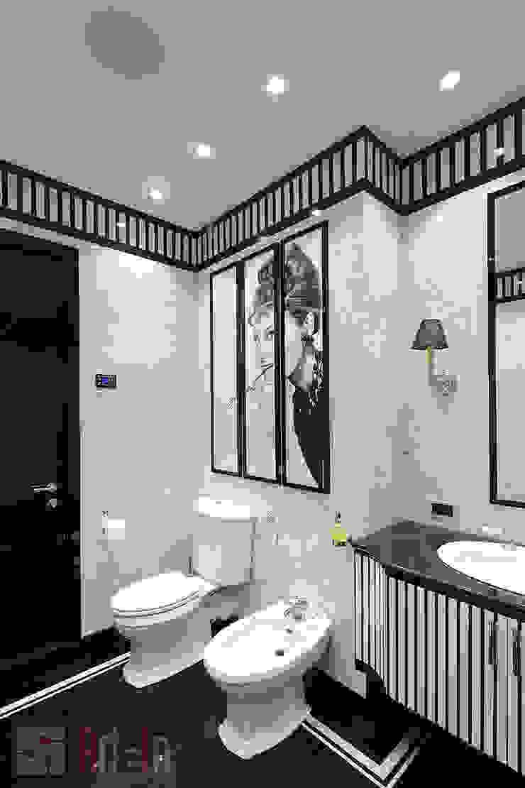 Умный дом в сердце столицы Ванная комната в стиле модерн от Art-In Модерн