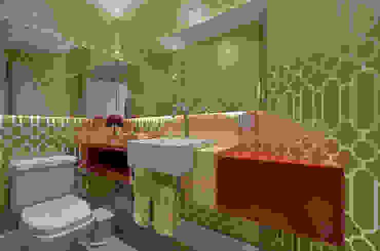 APARTAMETO - TAMARA RODRIGUEZ ARQUITETURA Banheiros modernos por Tamara Rodriguez Aquitetura Moderno
