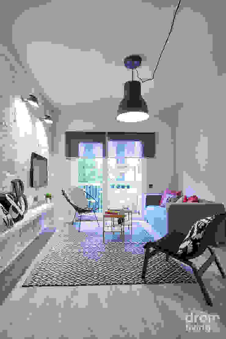 Skandinavische Wohnzimmer von Dröm Living Skandinavisch