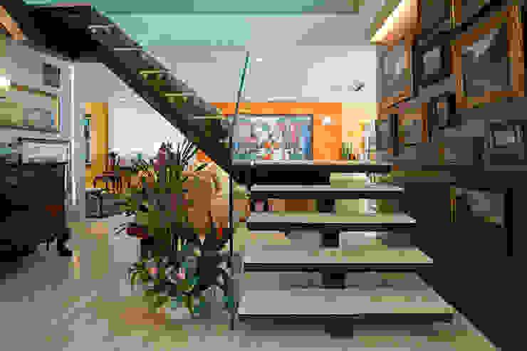 Apartamento São Conrado Espaços comerciais por Chicô Gouvêa - Arquitetura