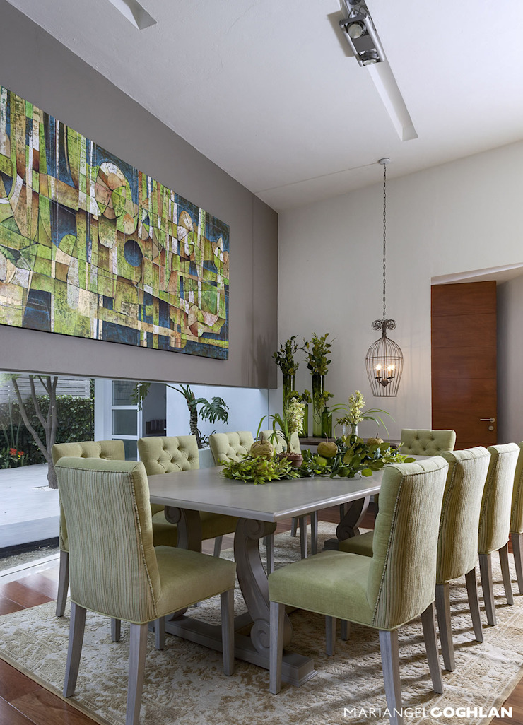 Ruang Makan Modern Oleh MARIANGEL COGHLAN Modern
