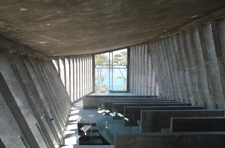 Sunset Chapel Interior design by BNKR Arquitectura