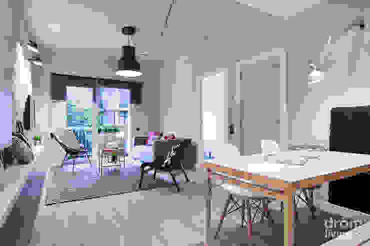 스칸디나비아 거실 by Dröm Living 북유럽