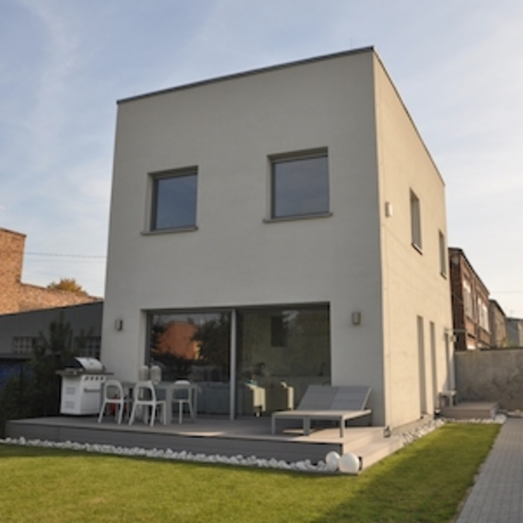 Moderne huizen van Pracownia Projektowa Ola Fredowicz Modern
