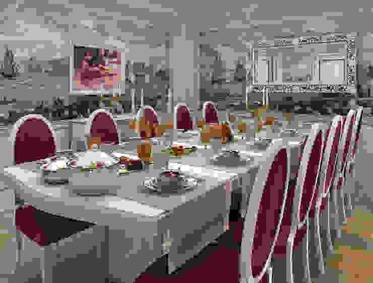 Fabbrica Mobilya – ÖZEL EV TASARIMI:  tarz Yemek Odası,