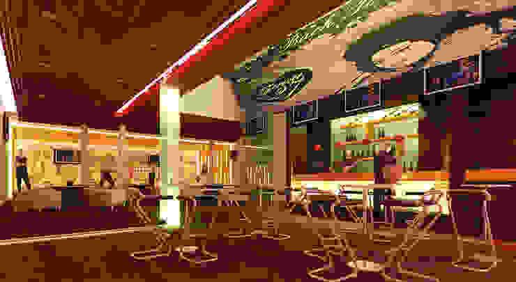Sitio Bares y clubs de estilo moderno de NGestudio Moderno
