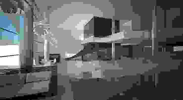 Jaca resort & SPA Hotel in stile eclettico di Studio Candeloro Architects Eclettico