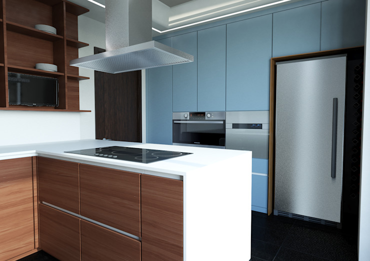 Architetto ANTONIO ZARDONI Casas estilo moderno: ideas, arquitectura e imágenes