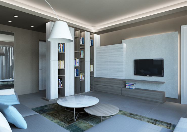 Modern Houses by Architetto ANTONIO ZARDONI Modern