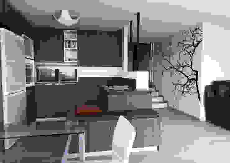 Cozinhas modernas por Architetto ANTONIO ZARDONI Moderno
