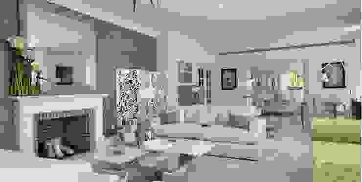 Living Room Дома в стиле модерн от Tereza Prego Design Модерн