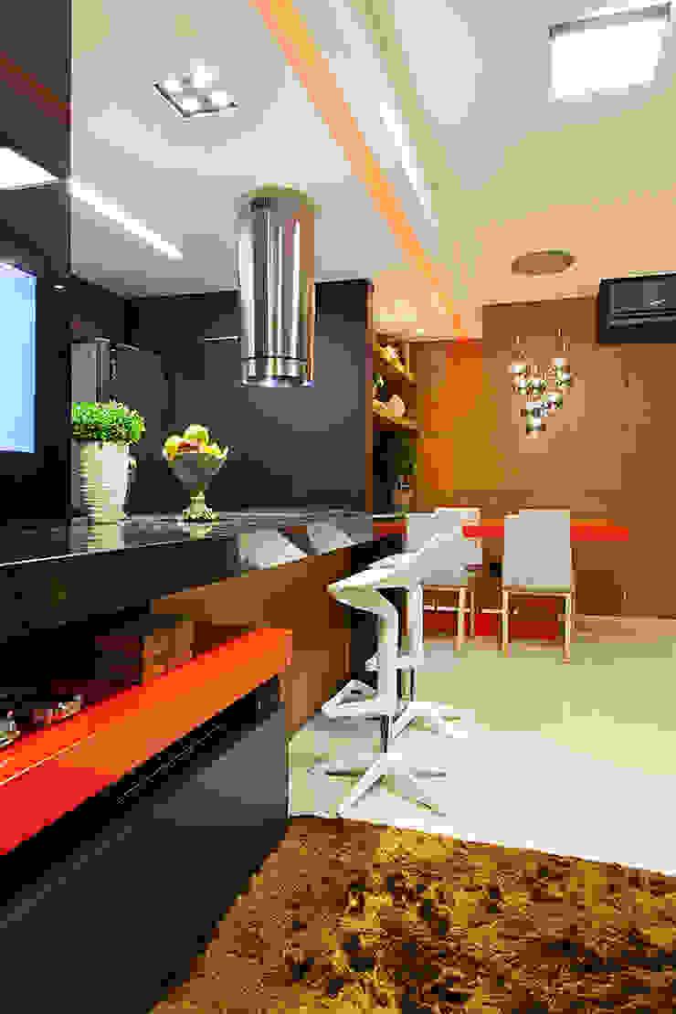Estar integrado Salas de estar modernas por AL11 ARQUITETURA Moderno