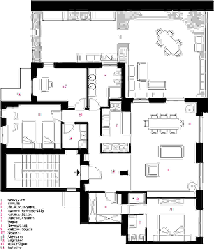 CASA MN Case moderne di LSB architetti associati Moderno