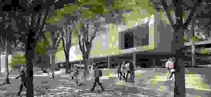 Un acceso al campus de City Ink Design