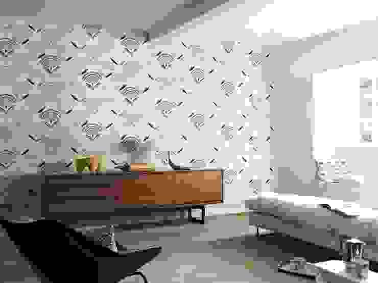 Calia Prestigious Textiles Eclectic style living room