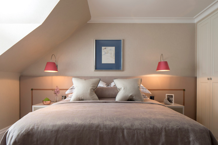 Guest Bedroom van Roselind Wilson Design Klassiek