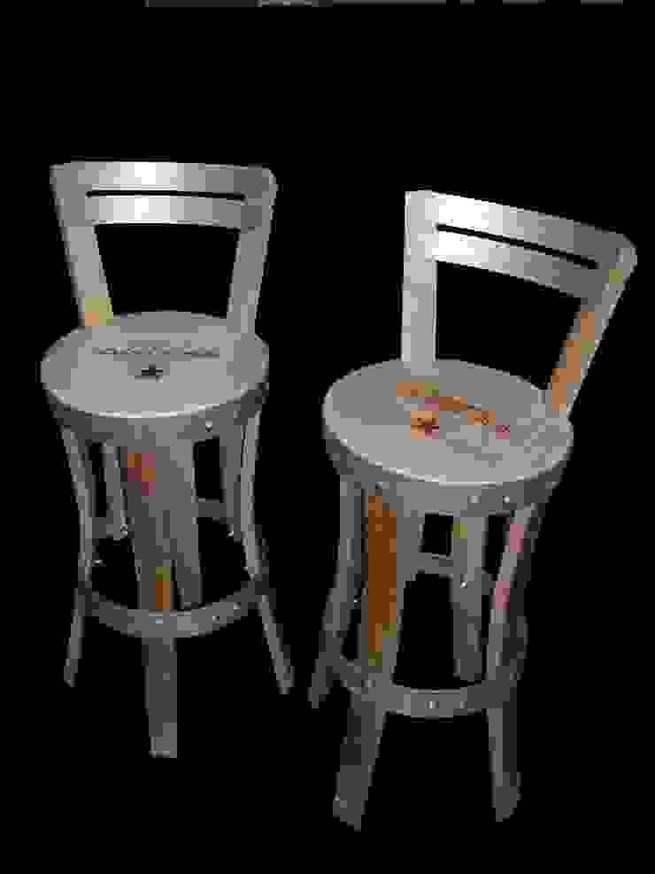 chaises hautes, personnalisable en hauteur d'assise , teinte, finition... par Douelledereve / Eco design construction