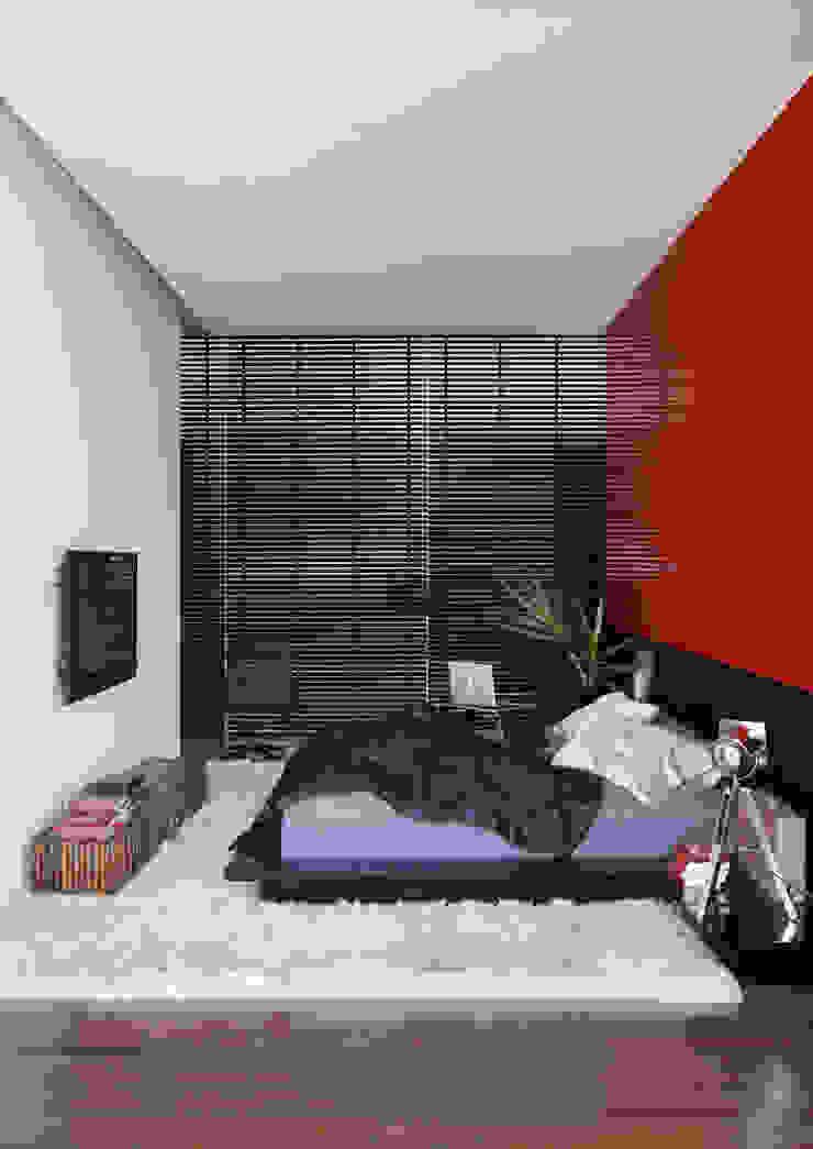 LA HOUSE Quartos modernos por STUDIO GUILHERME TORRES Moderno