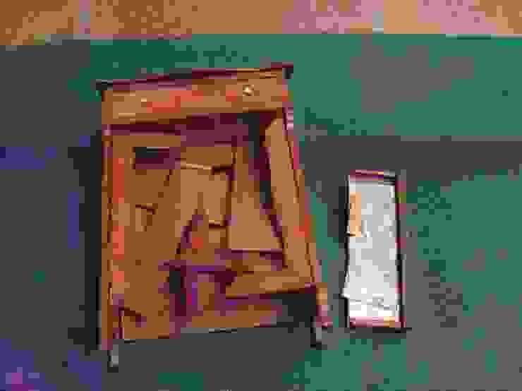 Spiegelkast, miniatuur van Booijink en Visser, meubelrestauratie