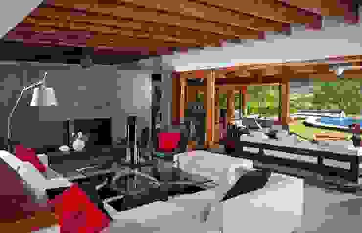 Ruang Keluarga Modern Oleh Taller Luis Esquinca Modern