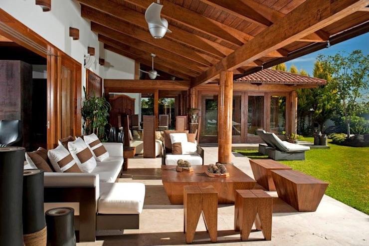 Taller Luis Esquinca Moderner Balkon, Veranda & Terrasse