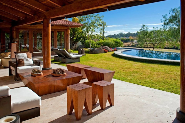 Balkon, Beranda & Teras Modern Oleh Taller Luis Esquinca Modern