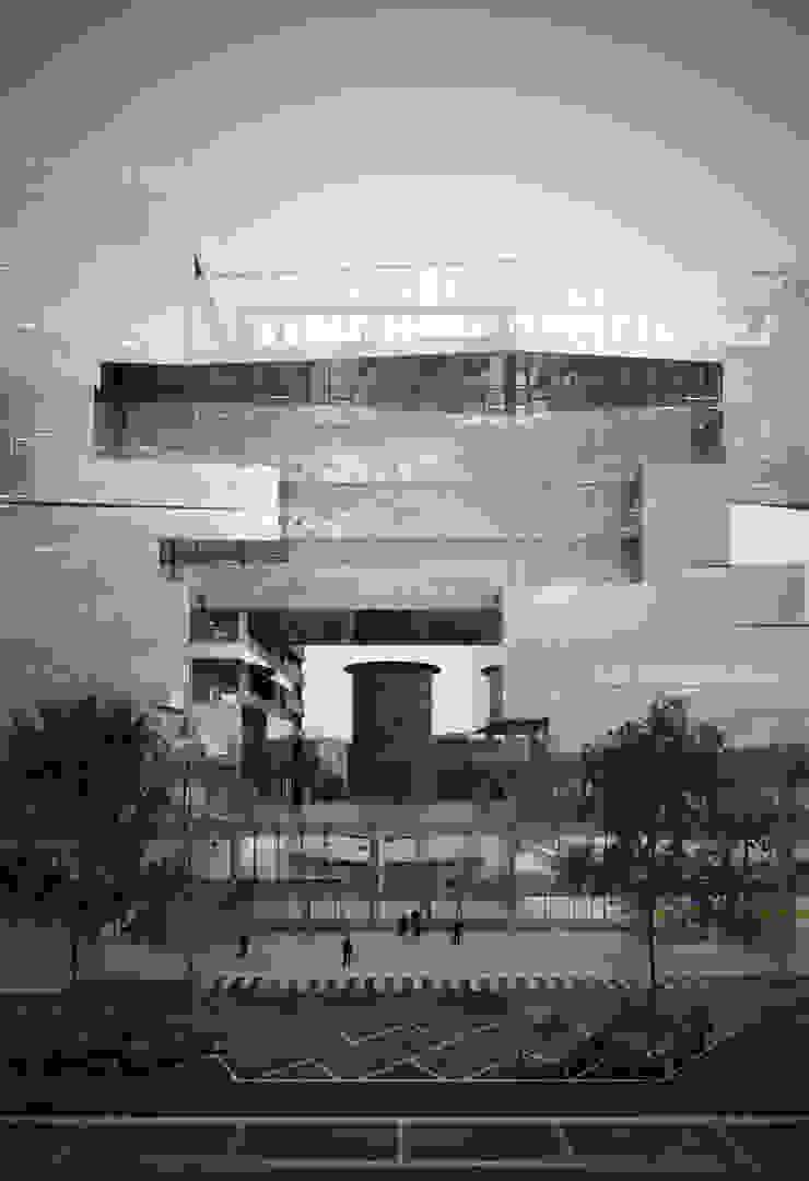 Nouveau siège social de BNL-BNP Paribas à Romeu Espaces de bureaux modernes par 5+1AA alfonso femia gianluca peluffo Moderne