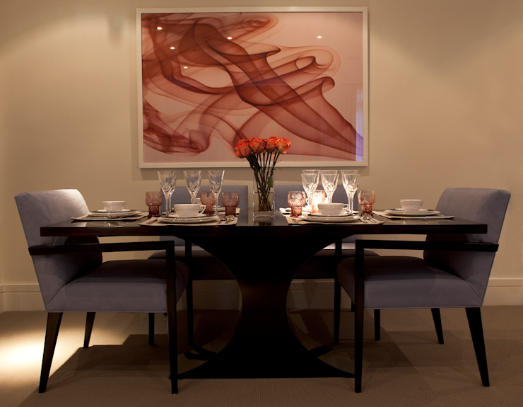 Dining Area by Roselind Wilson Design Classic
