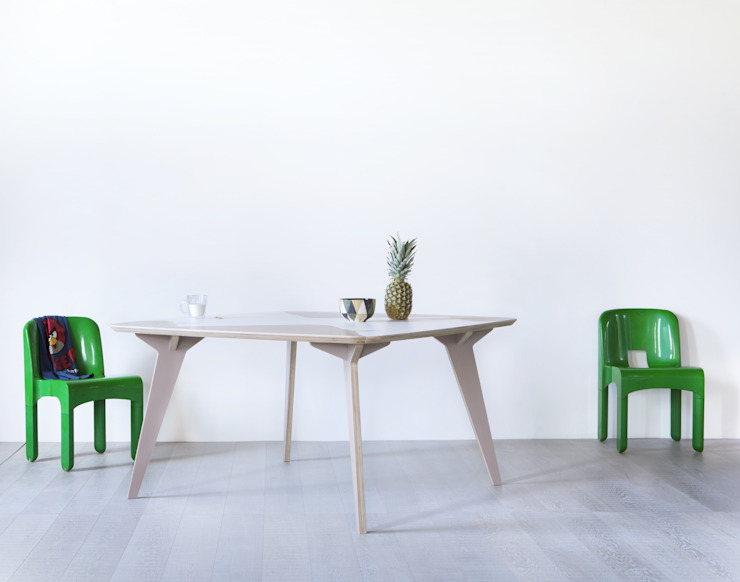 Lambro Table por Andrea Casati Design Escandinavo