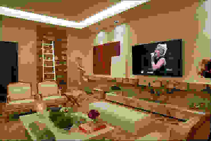 Guardini Stancati Arquitetura e Design Classic style living room
