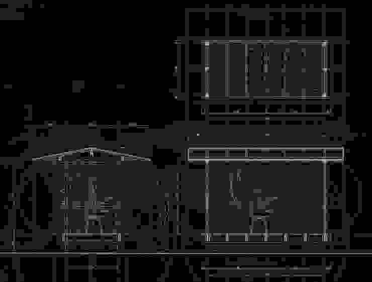 高原正伸建築設計事務所 一級建築士事務所 Eclectic style garage/shed