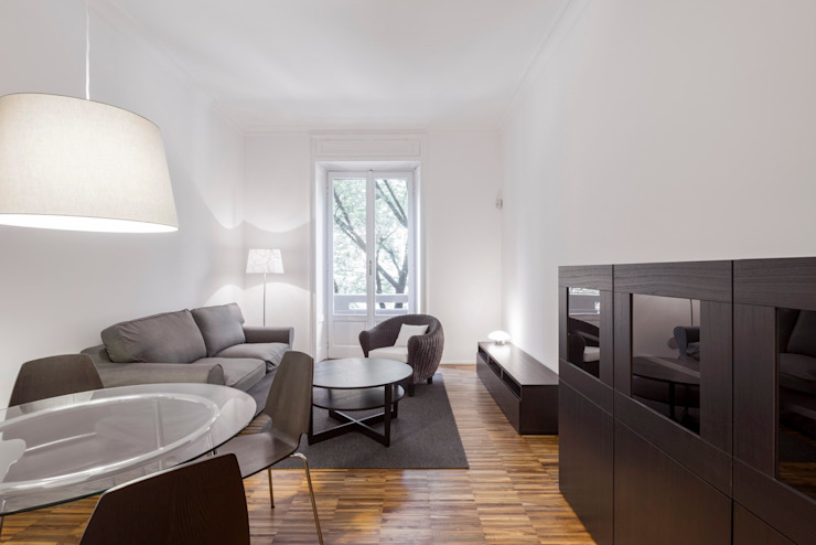 Private apartment _ LPC Soggiorno moderno di cristianavannini | arc Moderno