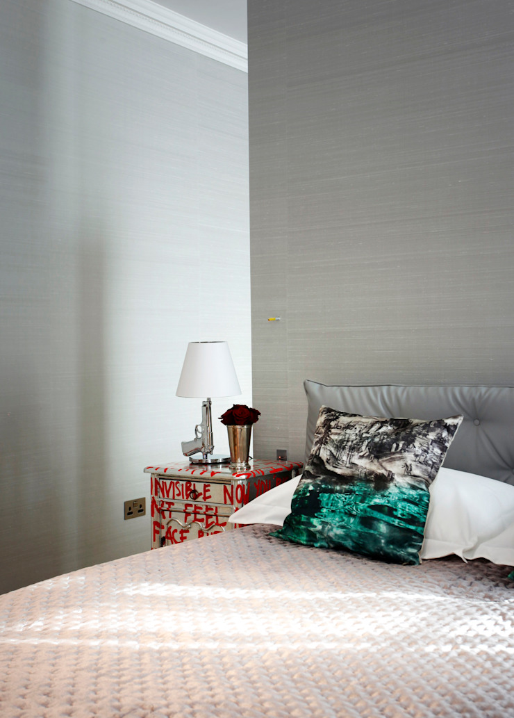 Bedroom Modern style bedroom by Roselind Wilson Design Modern